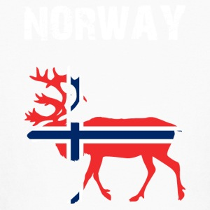 Nation-Design Norway Reindeer - Kids' Long Sleeve T-Shirt