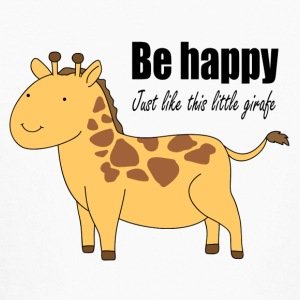 Be happy just like this little giraffe - Kids' Long Sleeve T-Shirt