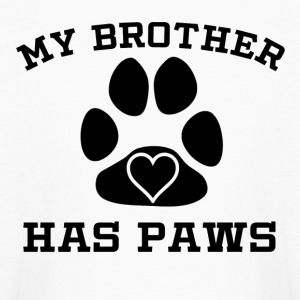 My Brother Has Paws - Kids' Long Sleeve T-Shirt