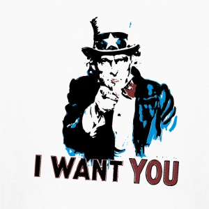I want you uncle Sam - Kids' Long Sleeve T-Shirt