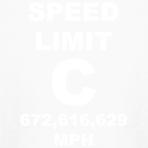 Speed of light posters - Kids' Long Sleeve T-Shirt