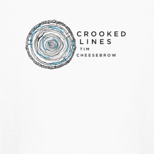 Crooked Lines Album Cover Art - Kids' Long Sleeve T-Shirt