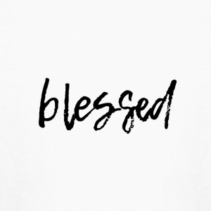 blessed - Kids' Long Sleeve T-Shirt