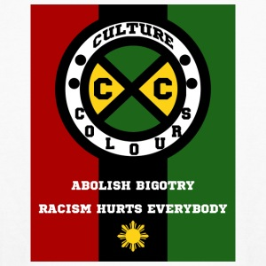 Culture Colours. Abolish Bigotry. Racism hurts - Kids' Long Sleeve T-Shirt