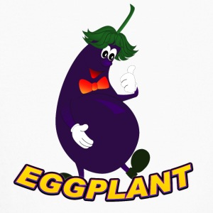 eGGPLANT - Kids' Long Sleeve T-Shirt
