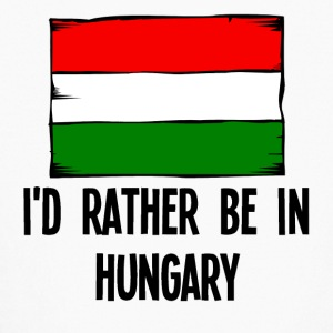 I'd Rather Be In Hungary - Kids' Long Sleeve T-Shirt