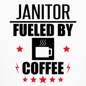 Janitor Fueled By Coffee - Kids' Long Sleeve T-Shirt