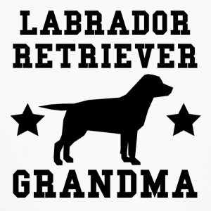 Labrador Retriever Grandma - Kids' Long Sleeve T-Shirt