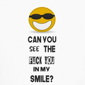 can you see the fuck you in my smile? - Kids' Long Sleeve T-Shirt