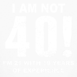 I Am Not 40! 40th Birthday - Kids' Long Sleeve T-Shirt