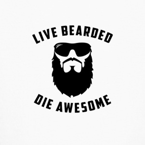 Live Bearded - Kids' Long Sleeve T-Shirt