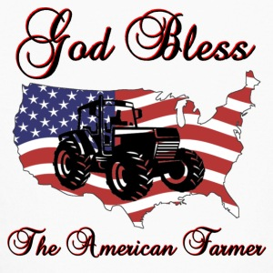 God Bless the American Farmer - Kids' Long Sleeve T-Shirt