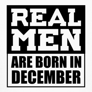Real Men are Born in December - Kids' Long Sleeve T-Shirt
