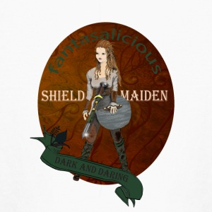 Shield Maiden or Valkyrie T Shirt - Kids' Long Sleeve T-Shirt
