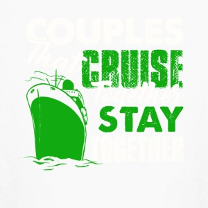Couples Cruise Together Shirt - Kids' Long Sleeve T-Shirt