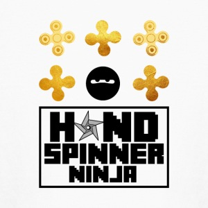 Hand Spinner Ninja Fidget - Fun - Shirt - Kids' Long Sleeve T-Shirt