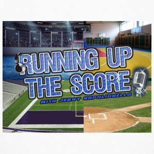 Running Up The Score Logo - Kids' Long Sleeve T-Shirt