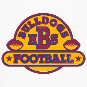 BULLDOGS HBS FOOTBALL - Kids' Long Sleeve T-Shirt