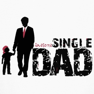 Awesome single DaD - Kids' Long Sleeve T-Shirt