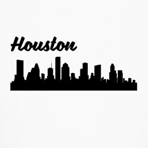 Houston TX Skyline - Kids' Long Sleeve T-Shirt