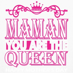 Maman You Are The Queen Happy Mothers Day - Kids' Long Sleeve T-Shirt
