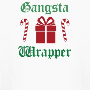 Gangsta Wrapper Christmas - Kids' Long Sleeve T-Shirt