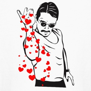 Salt Bae Funny Extra Love - Kids' Long Sleeve T-Shirt