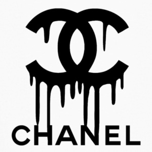 chanel slime logo design - Kids' Long Sleeve T-Shirt