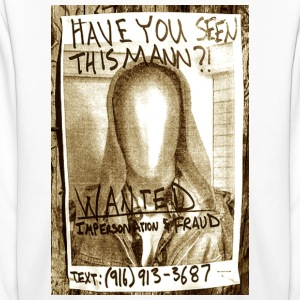 Wanted Poster - Kids' Long Sleeve T-Shirt