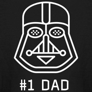 dad Father vader fatherday number One best Great f - Kids' Long Sleeve T-Shirt