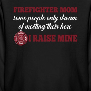 Firefighter mom - Kids' Long Sleeve T-Shirt
