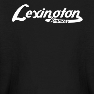 Lexington Kentucky Vintage Logo - Kids' Long Sleeve T-Shirt