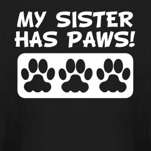 My Sister Has Paws - Kids' Long Sleeve T-Shirt