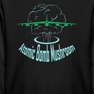 Atomic Bomb Mushroom - Kids' Long Sleeve T-Shirt