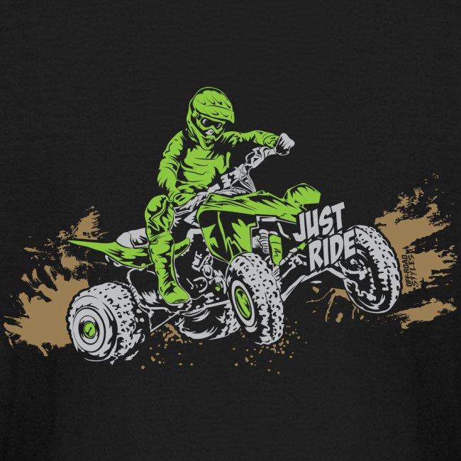 ATV Quad Just Ride Bogging