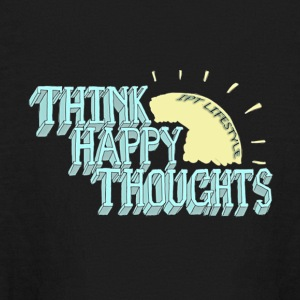 Think Happy Thoughts - Kids' Long Sleeve T-Shirt