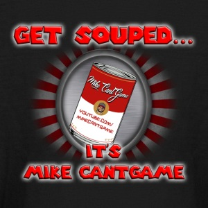 Mike CantGame Soup Can Shirt - Kids' Long Sleeve T-Shirt