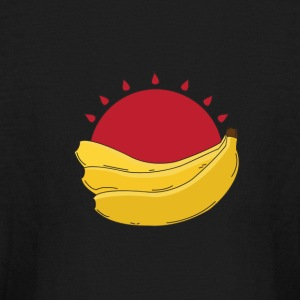 Banana Corp ~ Sunset - Kids' Long Sleeve T-Shirt