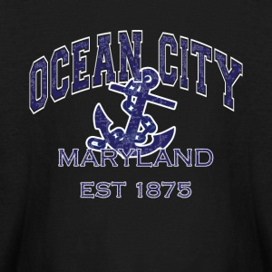 Ocean City Maryland Anchor - Kids' Long Sleeve T-Shirt