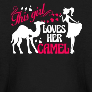 Girl Loves Her Camel Shirt - Kids' Long Sleeve T-Shirt