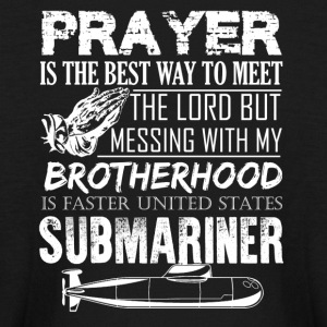 Submariner Prayer Shirt - Kids' Long Sleeve T-Shirt