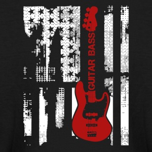 Electric Guitar Flag Shirt - Kids' Long Sleeve T-Shirt