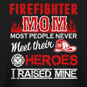 Firefighter Mom Shirt - Kids' Long Sleeve T-Shirt