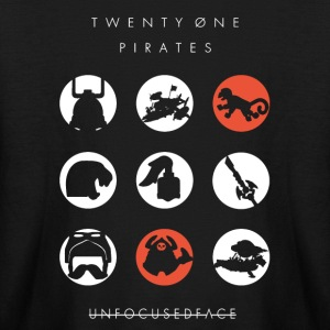Twenty-Øne Pirates: UnfocusedFace Official Logo - Kids' Long Sleeve T-Shirt