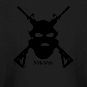 sietesiete gun logo - Kids' Long Sleeve T-Shirt