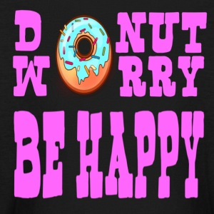 Donut Worry Be Happy - Kids' Long Sleeve T-Shirt