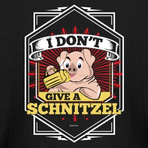 I Don't Give A Schnitzel German Beer Oktoberfest - Kids' Long Sleeve T-Shirt