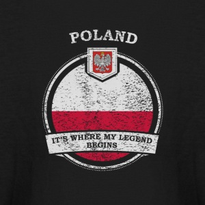 Poland It's Where My Legend Begins - Kids' Long Sleeve T-Shirt