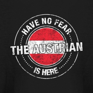 Have No Fear The Austrian Is Here - Kids' Long Sleeve T-Shirt