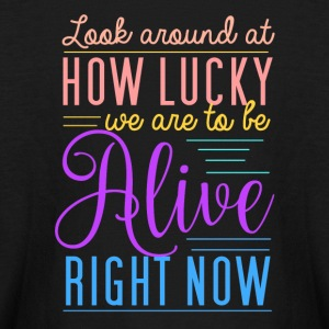 Alive right now - Kids' Long Sleeve T-Shirt